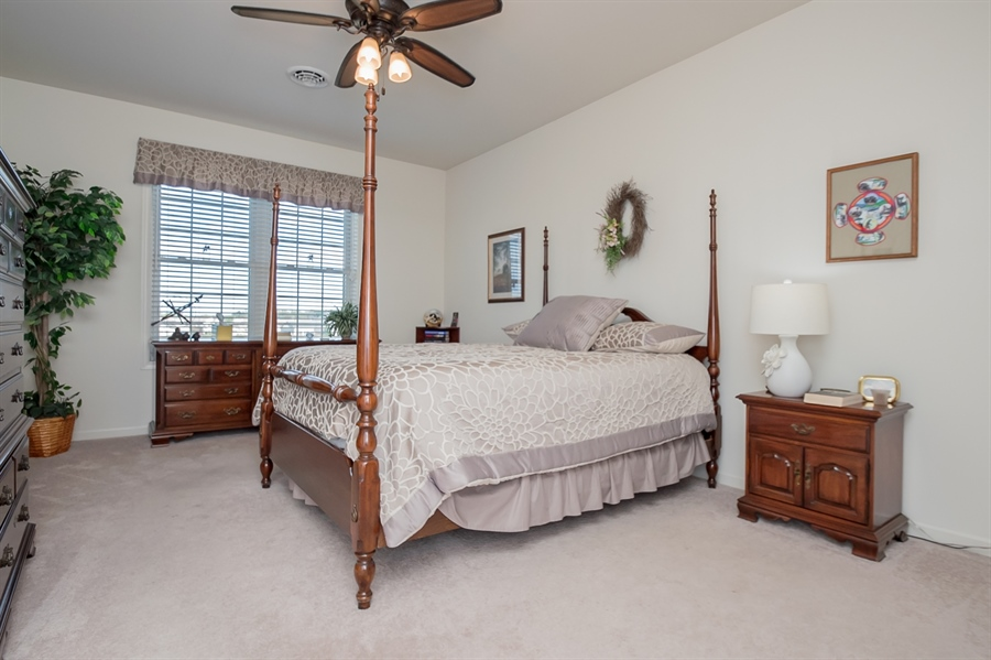 Real Estate Photography - 143 Honeycroft Blvd Boulevard, Cochranville, DE, 19330 - Pretty Owners Bedroom