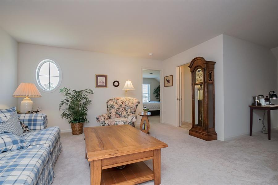 Real Estate Photography - 143 Honeycroft Blvd Boulevard, Cochranville, DE, 19330 - 2nd Floor Family Room