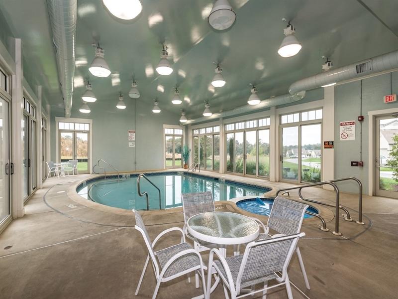 Real Estate Photography - 143 Honeycroft Blvd Boulevard, Cochranville, DE, 19330 - Indoor Pool and Spa