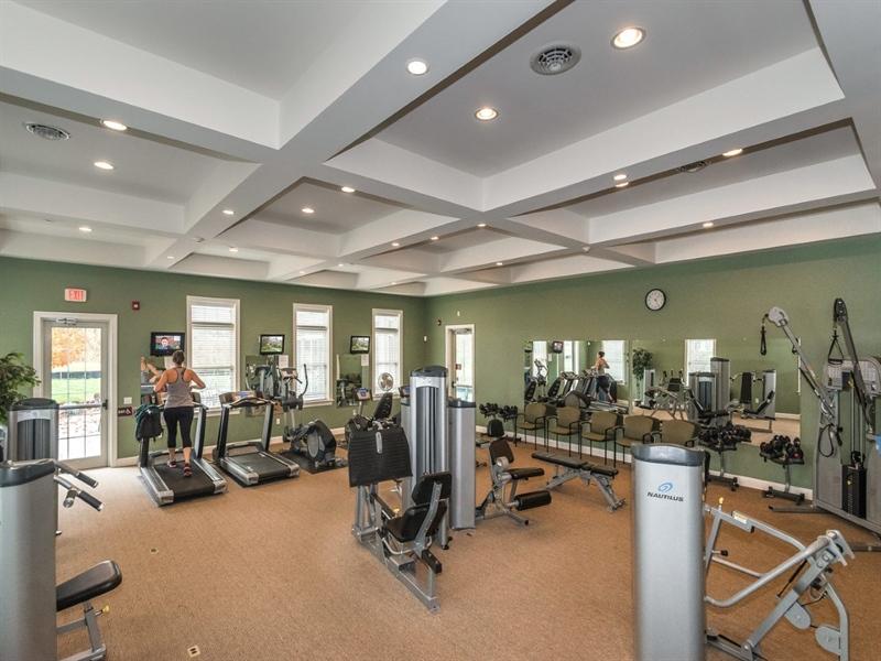 Real Estate Photography - 143 Honeycroft Blvd Boulevard, Cochranville, DE, 19330 - Fitness Center