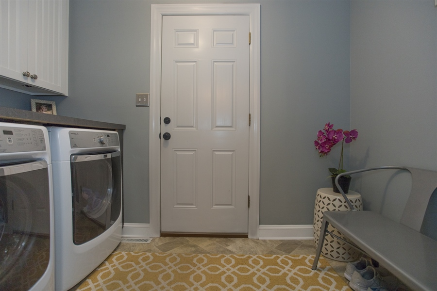 Real Estate Photography - 6 Welwyn Rd, Newark, DE, 19711 - Laundry room