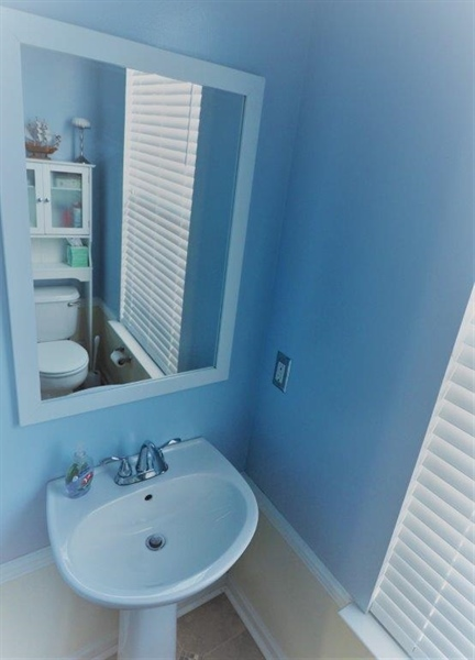 Real Estate Photography - 40 Whitetail Way, Elkton, MD, 21921 - Main Level Powder Room Sink