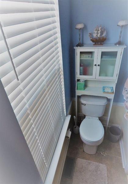Real Estate Photography - 40 Whitetail Way, Elkton, MD, 21921 - Main Lvel Powder Room Toilet