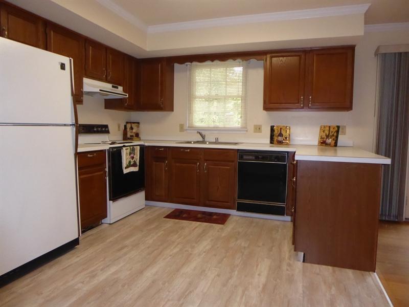 Real Estate Photography - 503 Ponderosa Dr, Bear, DE, 19701 - Family Room/Kitchen