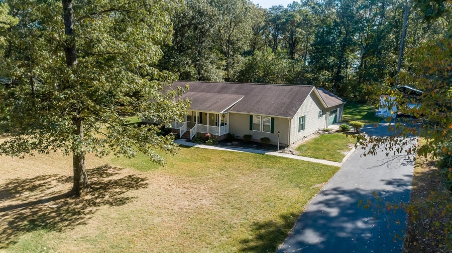 Real Estate Photography - 20 Water St, Lincoln, DE, 19960 - AERIAL VIEW