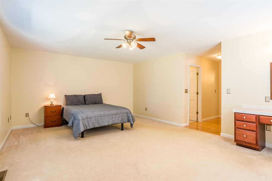 Real Estate Photography - 20 Water St, Lincoln, DE, 19960 - MAIN BEDROOM SUITE