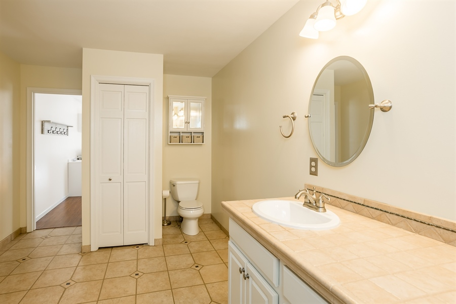Real Estate Photography - 20 Water St, Lincoln, DE, 19960 - MAIN BEDROOM BATHROOM