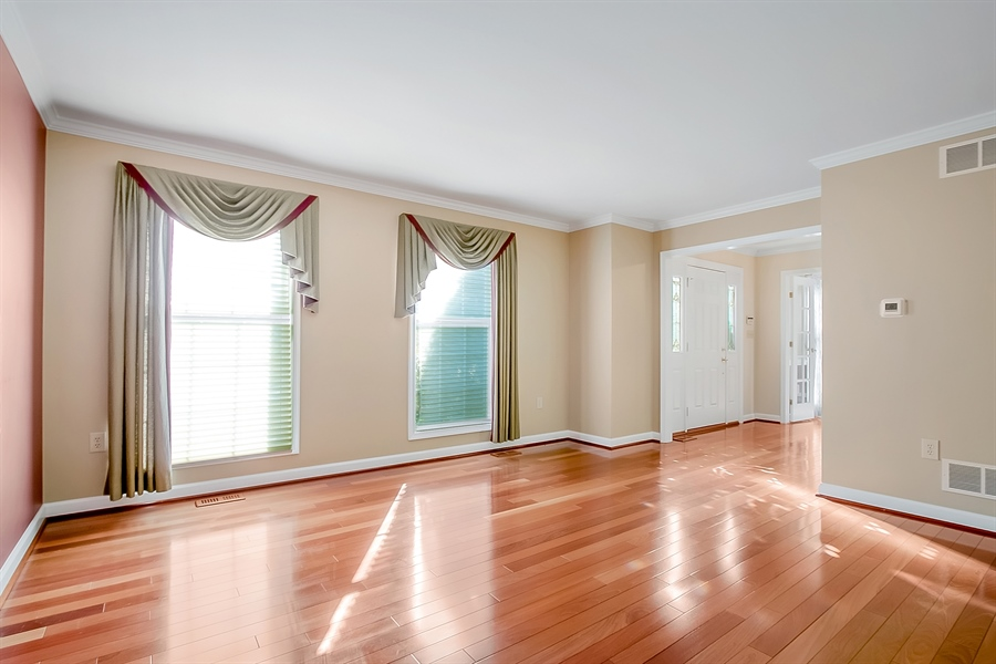 Real Estate Photography - 102 Beacon Ct, Wilmington, DE, 19808 - Lovely Formal Living Room With Large Windows!