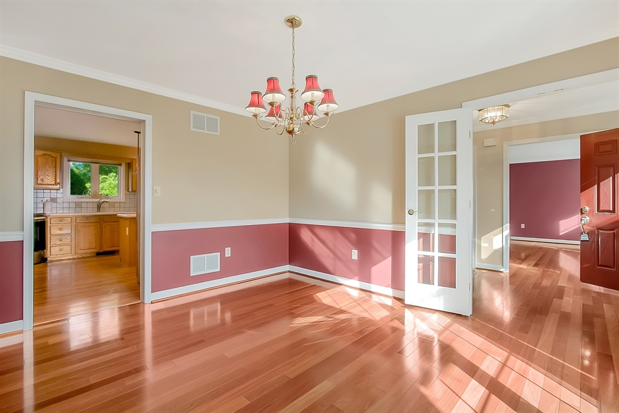 Real Estate Photography - 102 Beacon Ct, Wilmington, DE, 19808 - Another View Of The Dining Room