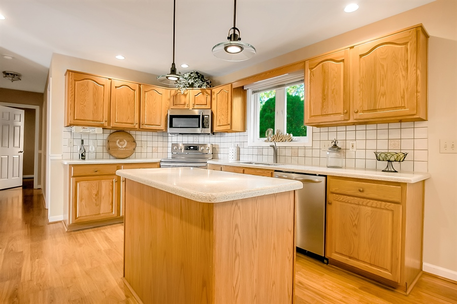 Real Estate Photography - 102 Beacon Ct, Wilmington, DE, 19808 - Cook's Kitchen With New Appliances
