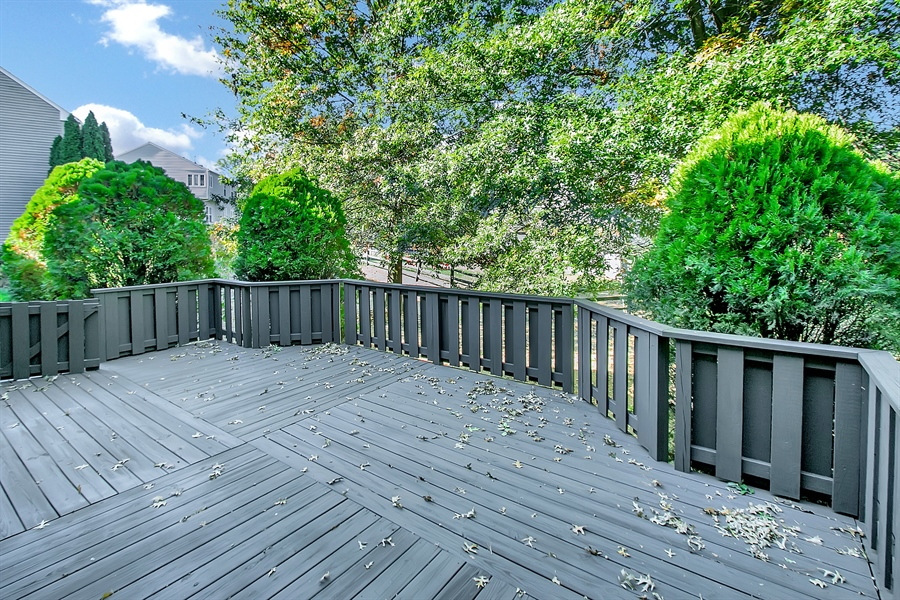 Real Estate Photography - 102 Beacon Ct, Wilmington, DE, 19808 - Another Deck View