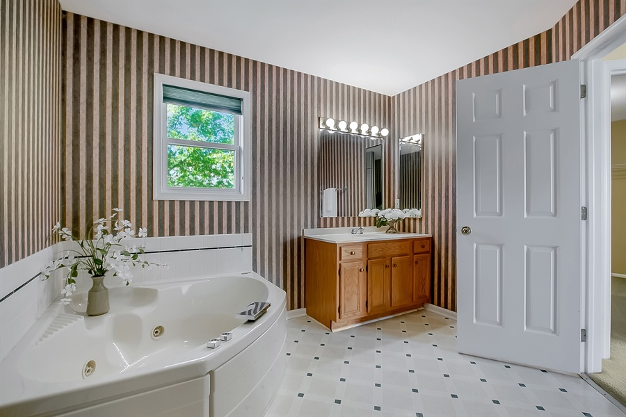 Real Estate Photography - 102 Beacon Ct, Wilmington, DE, 19808 - Another View Of The Master Bath