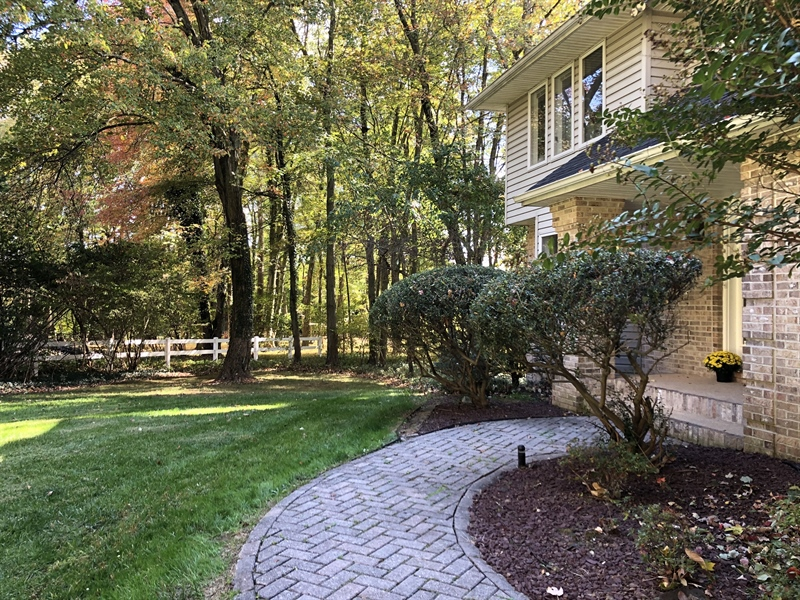 Real Estate Photography - 4919 Lancaster Pike, Wilmington, DE, 19807 - Paver walkway to welcoming entrance