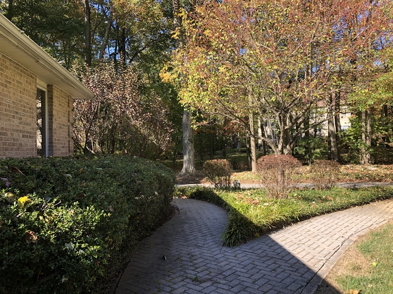 Real Estate Photography - 4919 Lancaster Pike, Wilmington, DE, 19807 - Lovely paver walkways to driveway and garage