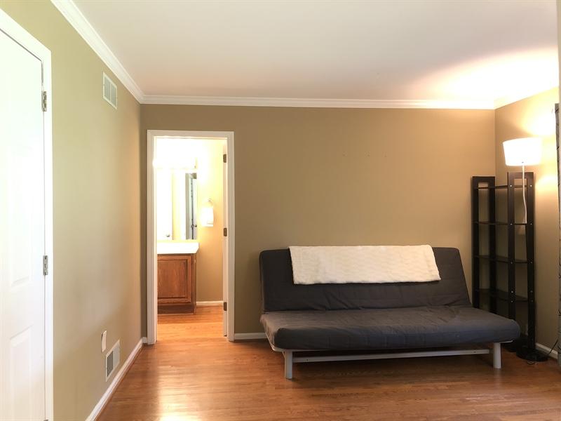 Real Estate Photography - 4919 Lancaster Pike, Wilmington, DE, 19807 - Main level bedroom w/ large closet