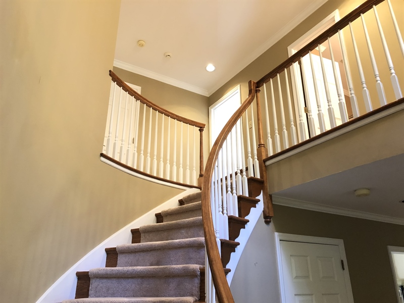 Real Estate Photography - 4919 Lancaster Pike, Wilmington, DE, 19807 - What a lovely hardwood staircase!