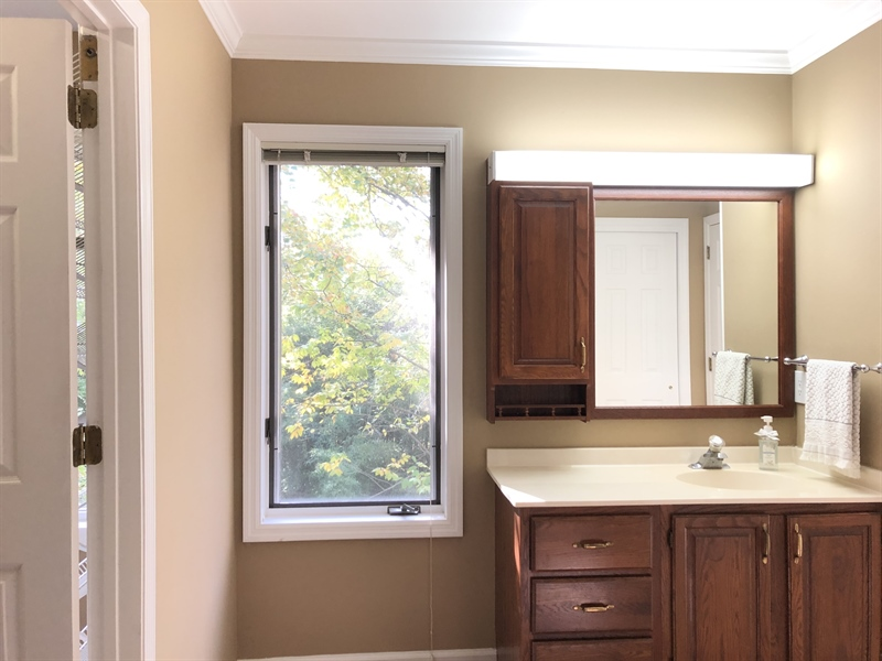 Real Estate Photography - 4919 Lancaster Pike, Wilmington, DE, 19807 - Dressing area w/ vanity and lots of closet space