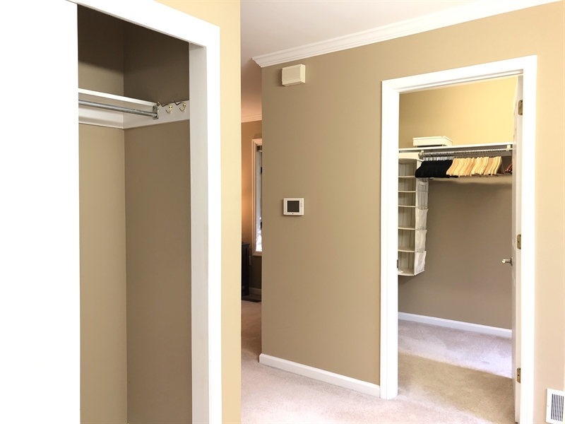 Real Estate Photography - 4919 Lancaster Pike, Wilmington, DE, 19807 - Huge walk-in closet and two more closets