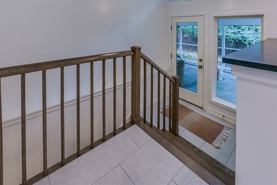 Real Estate Photography - 112 S Spring Valley Rd, Greenville, DE, 19807 - Side Door Entrance From Screened Porch