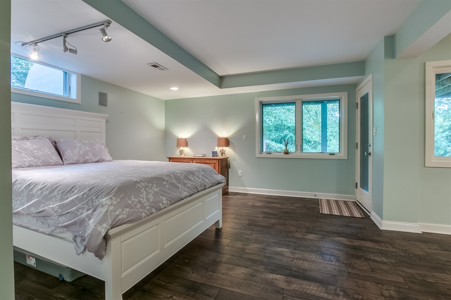 Real Estate Photography - 112 S Spring Valley Rd, Greenville, DE, 19807 - Lower Level Master Bedroom