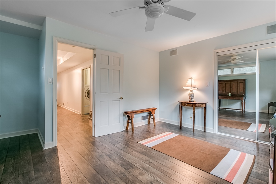 Real Estate Photography - 112 S Spring Valley Rd, Greenville, DE, 19807 - New Flooring in Bedroom #2 & Entire Lower Level