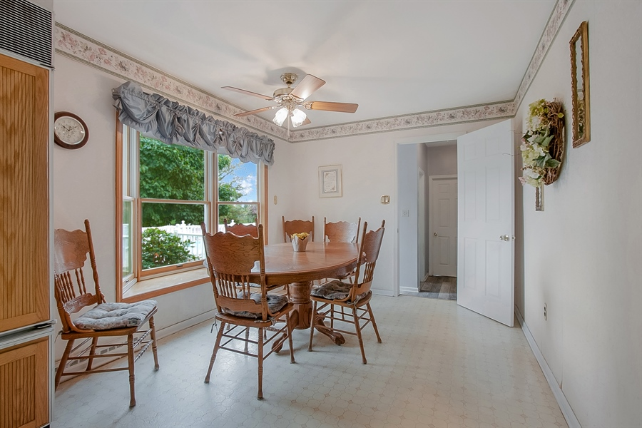 Real Estate Photography - 109 Foxbrook Dr, Landenberg, PA, 19350 - Bay window looks out to yard
