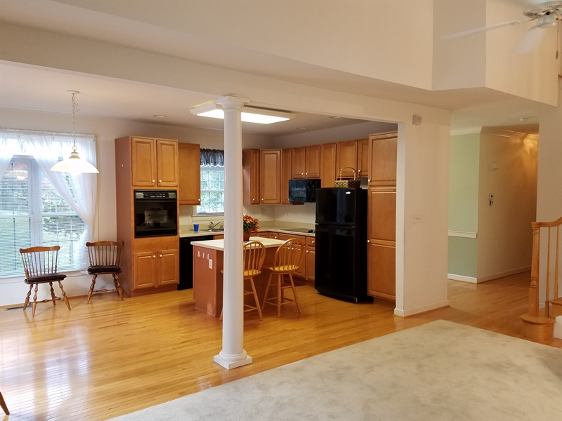 Real Estate Photography - 351 Regis Falls Ave, Wilmington, DE, 19808 - Kitchen open to living room