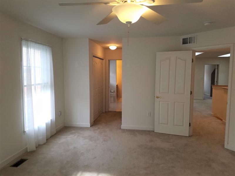 Real Estate Photography - 351 Regis Falls Ave, Wilmington, DE, 19808 - 2nd floor master suite bedroom