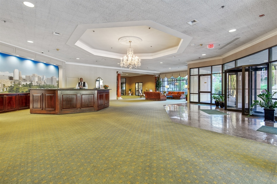 Real Estate Photography - 1100 Lovering Avenue #1100, 1100, Wilmington, DE, 19806 - Lobby with 24 Concierge Available