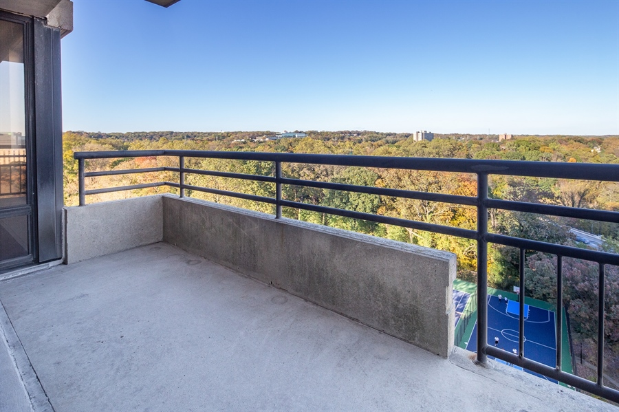 Real Estate Photography - 1100 Lovering Avenue #1100, 1100, Wilmington, DE, 19806 - Balcony off Living Area