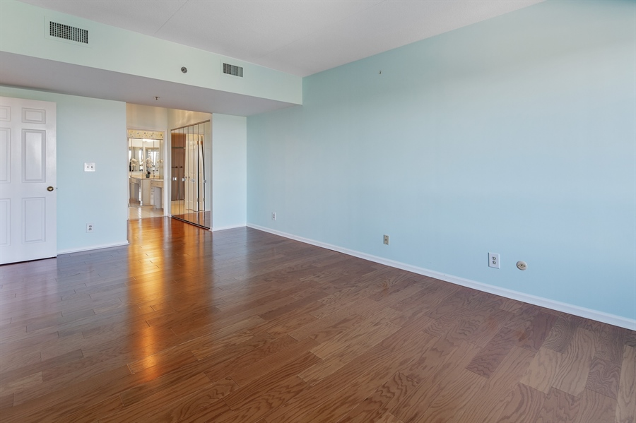 Real Estate Photography - 1100 Lovering Avenue #1100, 1100, Wilmington, DE, 19806 - Large Master Bedroom with walk in Closet