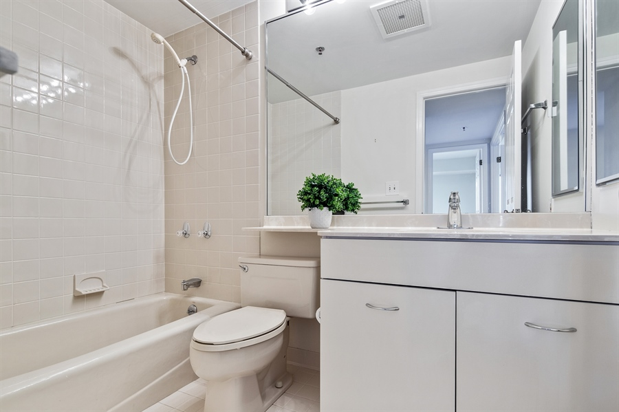 Real Estate Photography - 1100 Lovering Avenue #1100, 1100, Wilmington, DE, 19806 - Hall Bath