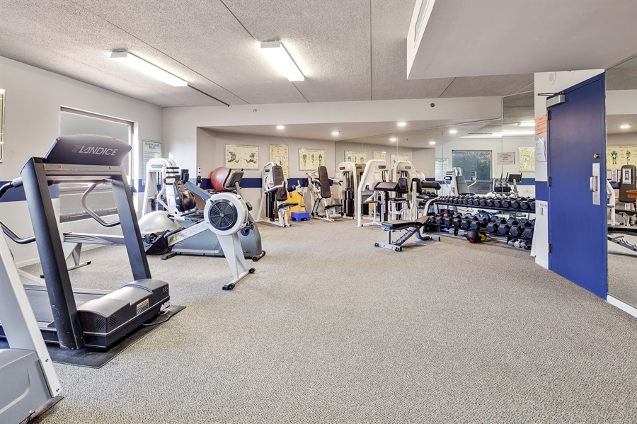 Real Estate Photography - 1100 Lovering Avenue #1100, 1100, Wilmington, DE, 19806 - Well equipped Fitness Room
