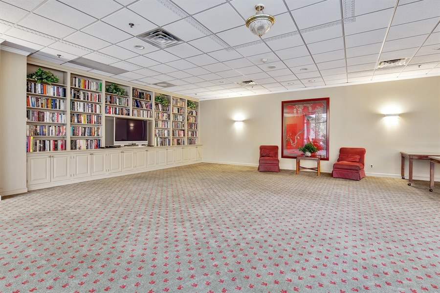 Real Estate Photography - 1100 Lovering Avenue #1100, 1100, Wilmington, DE, 19806 - Large Community Room with Kitchen for Entertaining