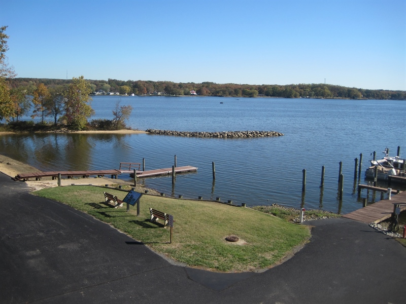 Real Estate Photography - 21 B North East Isles Drive, North East, DE, 21901 - view from deck