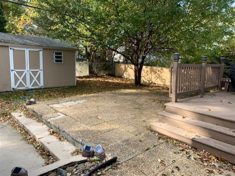 Real Estate Photography - 119 S Dillwyn Rd, Newark, DE, 19711 - Shed and Patio