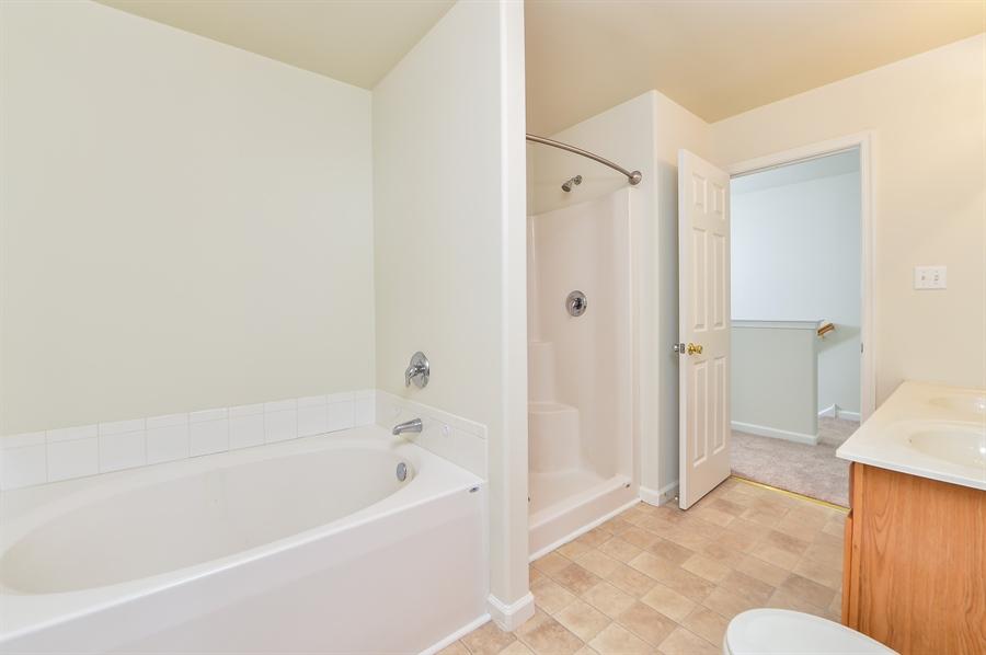 Real Estate Photography - 125 Ben Boulevard, Elkton, DE, 21921 - Garden tub, separate shower, double bowl vanity