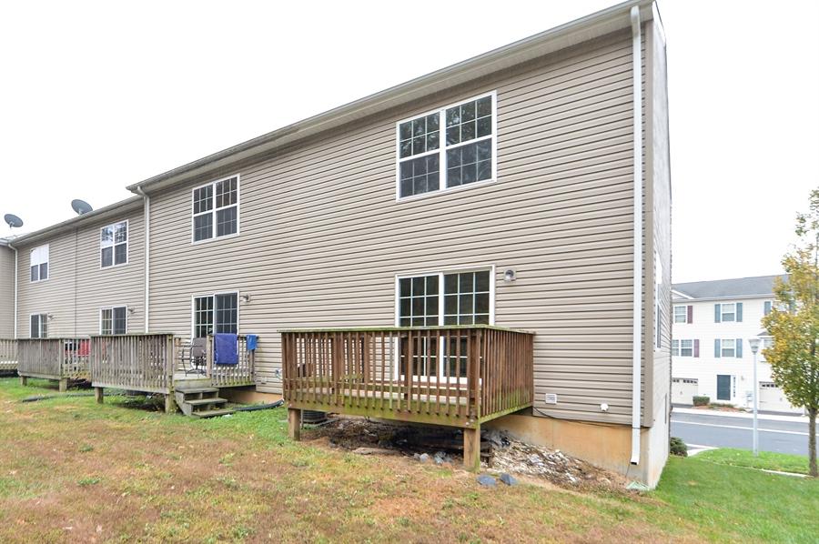 Real Estate Photography - 125 Ben Boulevard, Elkton, DE, 21921 - This end unit sits on .10 acre, larger than most.