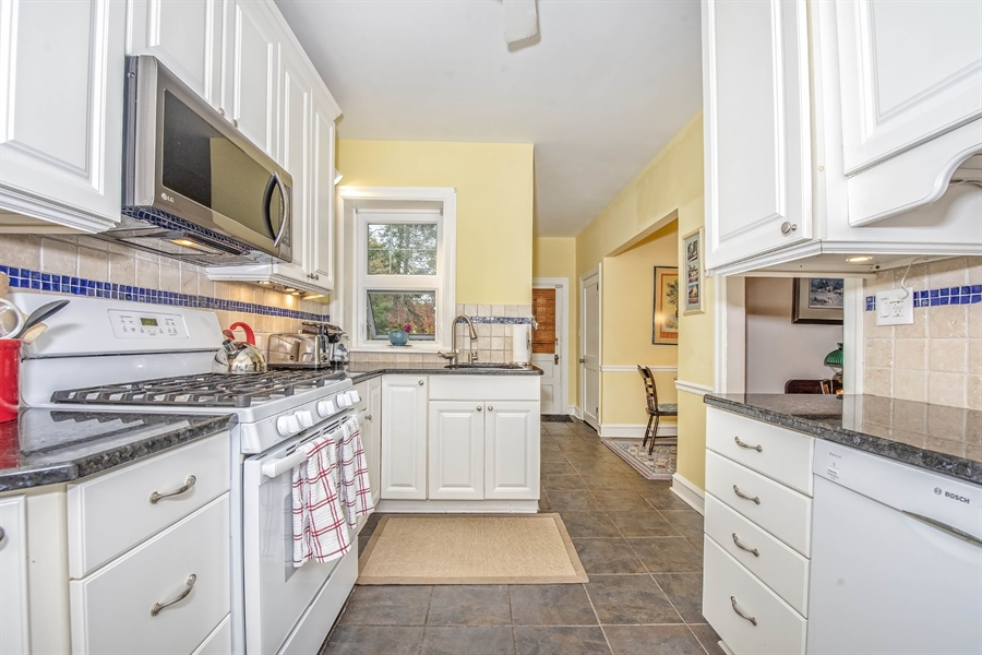 Real Estate Photography - 1316 Woodlawn Ave, Wilmington, DE, 19806 - Remodeled kitchen