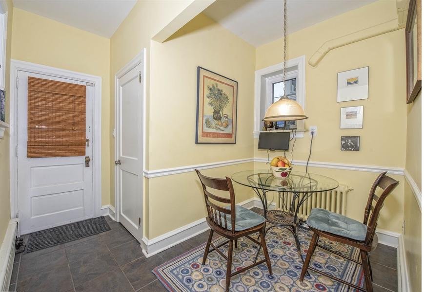 Real Estate Photography - 1316 Woodlawn Ave, Wilmington, DE, 19806 - Breakfast room