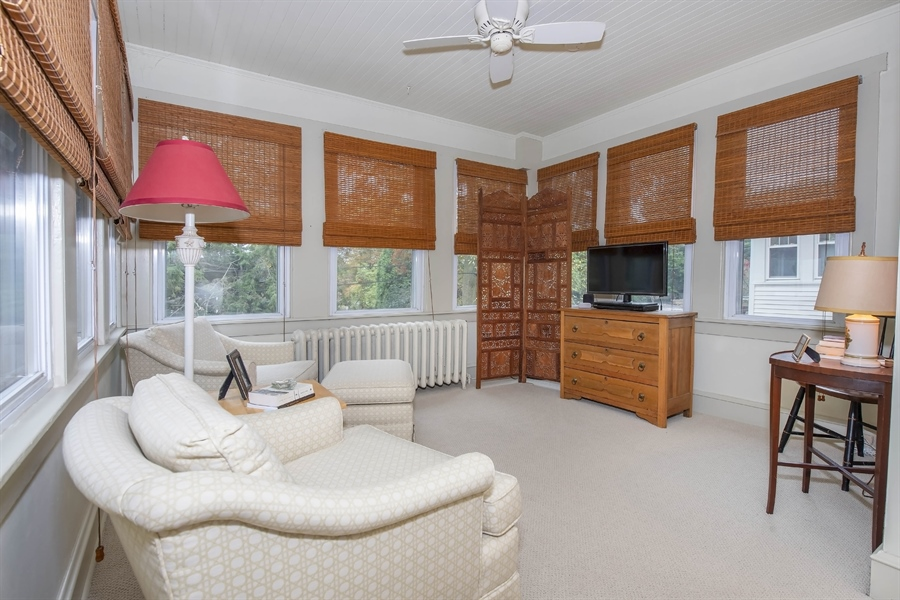 Real Estate Photography - 1316 Woodlawn Ave, Wilmington, DE, 19806 - Sitting room off of Master Bedroom
