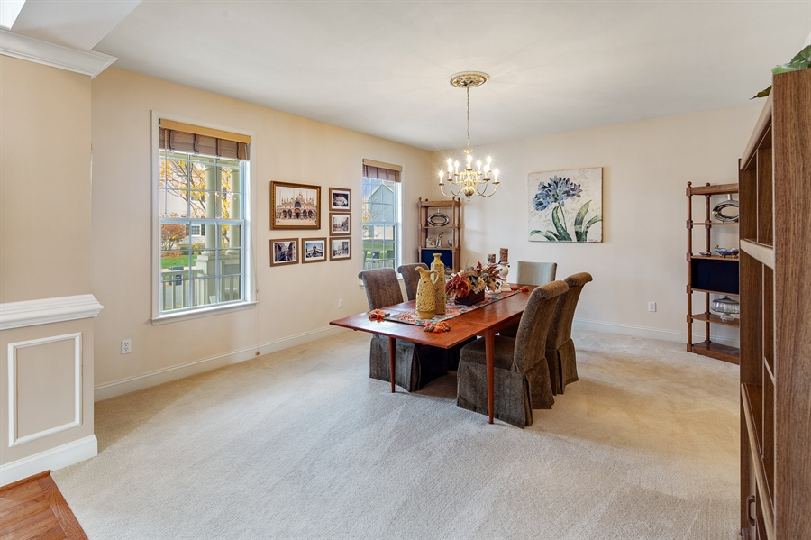 Real Estate Photography - 747 Idlewyld Dr, Middletown, DE, 19709 - Dining Room