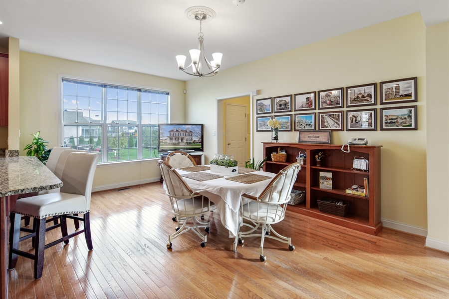 Real Estate Photography - 747 Idlewyld Dr, Middletown, DE, 19709 - Eating Area of Kitchen