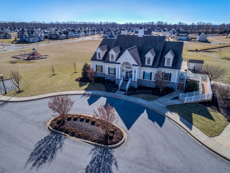 Real Estate Photography - 747 Idlewyld Dr, Middletown, DE, 19709 - Clubhouse and playground/open space