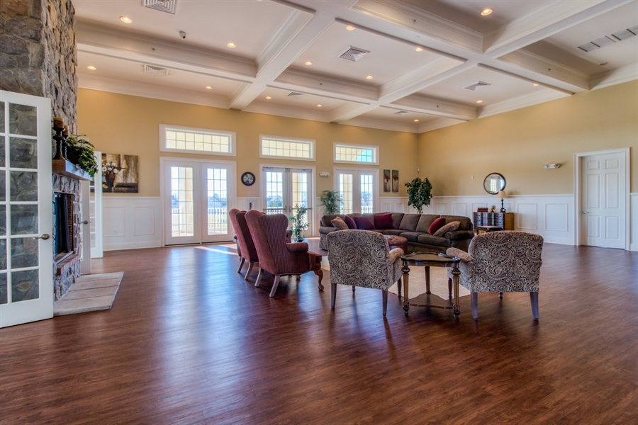 Real Estate Photography - 747 Idlewyld Dr, Middletown, DE, 19709 - inside the clubhouse