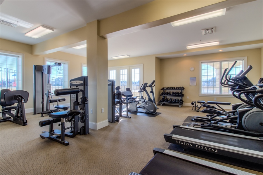 Real Estate Photography - 747 Idlewyld Dr, Middletown, DE, 19709 - 24/7 fitness