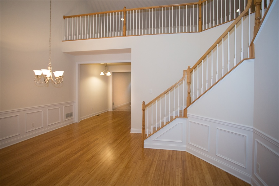 Real Estate Photography - 148 Landis Way N, Wilmington, DE, 19803 - Grand entry open to upper level!