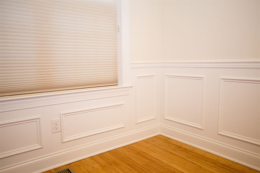 Real Estate Photography - 148 Landis Way N, Wilmington, DE, 19803 - Nice millwork and bamboo floors in main level!