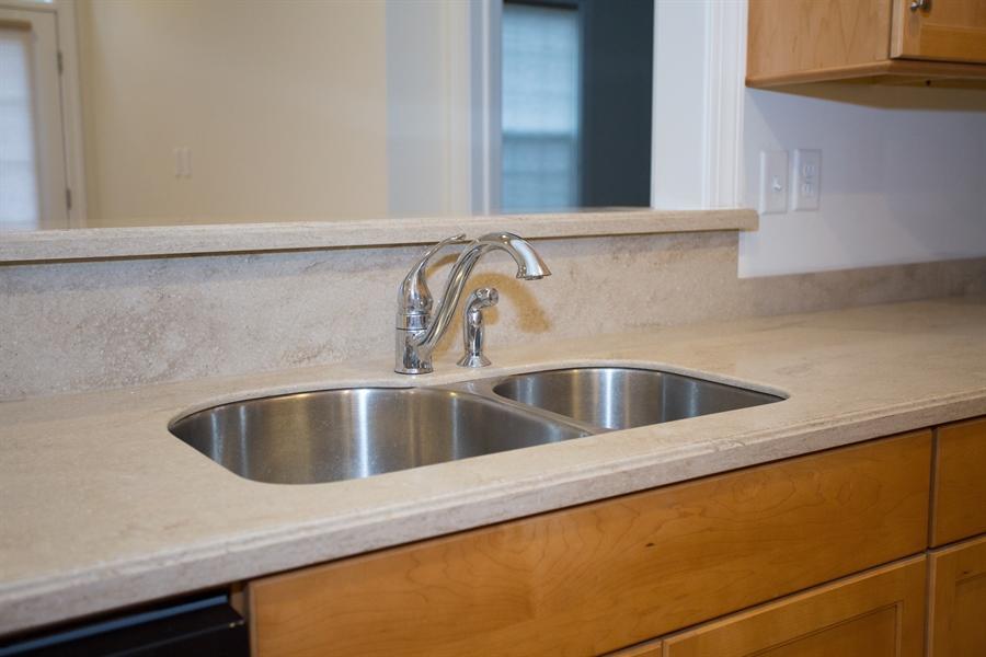 Real Estate Photography - 148 Landis Way N, Wilmington, DE, 19803 - Recessed SS sink and corian countertops!