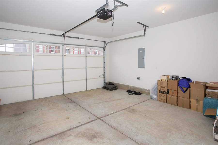 Real Estate Photography - 148 Landis Way N, Wilmington, DE, 19803 - Two car garage with entry through laundry/mud room